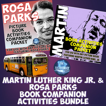 Martin Luther King, Jr. and Rosa Parks Mega Activities Bundle