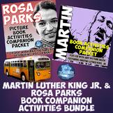 Martin Luther King, Jr. and Rosa Parks Mega Activities Bundle