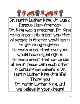 Martin Luther King, Jr. and Ruby Bridges