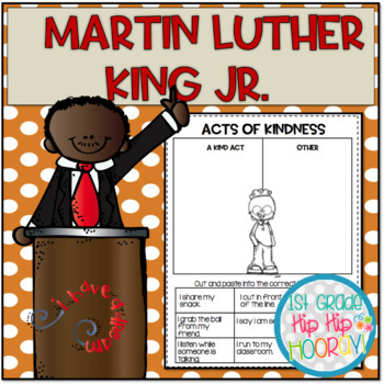 Martin Luther King Jr For The Primary Child Activities And Crafts