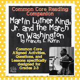 Martin Luther King Jr and the March on Washington Lessons, Activities