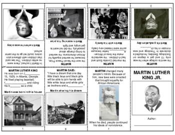Martin Luther King Jr. - booklet
