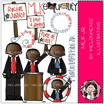 Martin Luther King Jr by Melonheadz COMBO PACK