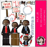 Martin Luther King Jr clip art - COMBO PACK- by Melonheadz