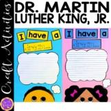 Black History Month Crafts   Martin Luther King Jr craft  