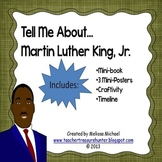 Martin Luther King, Jr. craftivity, mini book and display items