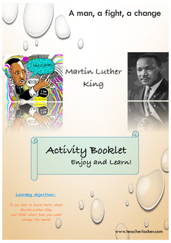 Martin Luther King booklet
