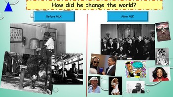 Martin Luther King NO PREP: interactive activities, printables, songs and videos