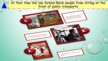 Martin Luther King: interactive activities