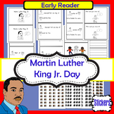 Martin Luther King Jr.- emergent reader and stickers