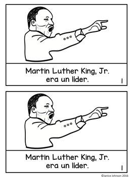 Martin Luther King, Jr {en español} Spanish Reader, Timeline & Original Song