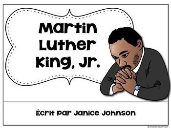 Martin Luther King, Jr {en français} French Reader & Timeline