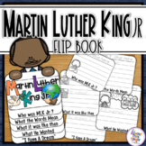 Martin Luther King Jr. writing and craft flip book activity