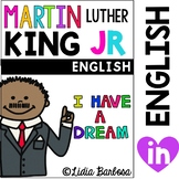 Martin Luther King Jr. illustrated Timeline Posters and Printables- Spanish