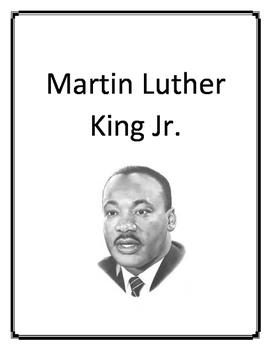 Martin Luther King Jr. keyword reader