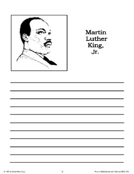 Martin Luther King, Jr.'s Birthday: Making Books
