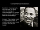 """Martin Luther King, Jr.'s """"I Have a Dream"""" Close Reading PowerPoint"""