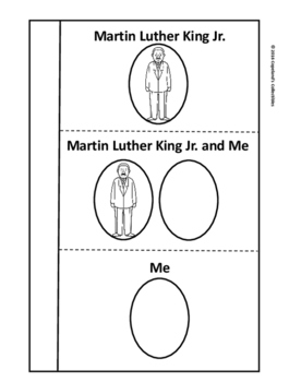 Martin Luther King Jr.'s Interactive Notebook Pages