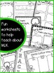 Martin Luther King Jr. worksheets and activites
