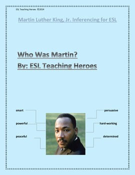 Martin Luther King, Jr.'s Character Traits for ESL