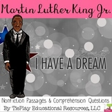 Martin Luther King Jr.'s Legacy Biography Comprehension Passages