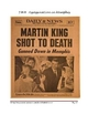 Martin Luther King Jr's Lifetime Key Events Literacy Center Packet