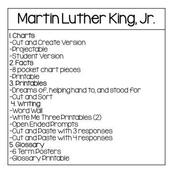 Martin Luther King Junior Activities