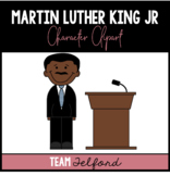 Martin Luther King Junior Clipart