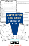 Martin Luther King Junior Enrichment Week