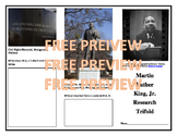 Martin Luther King, Junior Research Trifold