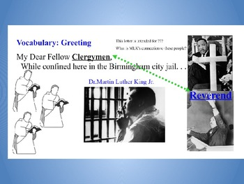 Martin Luther King - Letter From a Birmingham Jail - First 4 Paragraphs Analysis