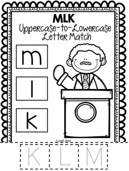 Martin Luther King Letter Work FREEBIE
