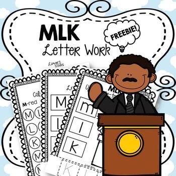 Martin Luther King Jr. Letter Work FREEBIE