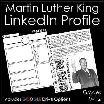 Martin Luther King LinkedIn Profile Assignment