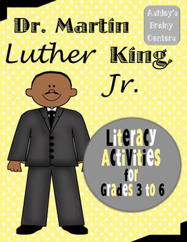 MLK Jr. Literacy Activities