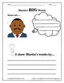 Martin Luther King Literacy Activity-Common Core Standards