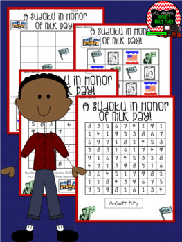 Martin Luther King (MLK Day) Sudoku Puzzle Bundle