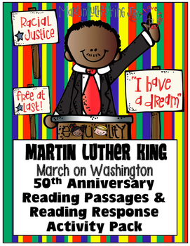 Martin Luther King Day Homework Resources Lesson Plans Teachers