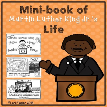 Martin Luther King Mini-book