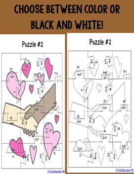 Martin Luther King Multiplication Puzzles