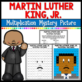 Martin Luther King Mystery Pictures- Multiplication