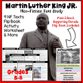 Martin Luther King Jr. Nonfiction Text Study