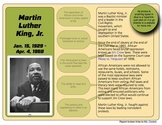 Martin Luther King  - Online Exploration