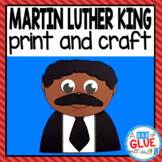 Martin Luther King Activity with Paper Craft and Creative Writing