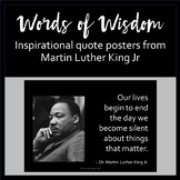 Martin Luther King Jr Posters
