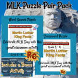 Martin Luther King Puzzle Pair Pack with Bonus Activity G6-10