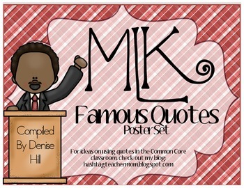 Martin Luther King Quote Poster Pack