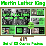Martin Luther King Quotes Posters