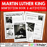 Martin Luther King Activities - Nonfiction Book