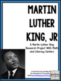 Martin Luther King: A Research and Project PLUS Centers!